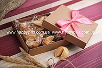 """Печенье с предсказаниями в подарочной упаковке """"Бант"""""""