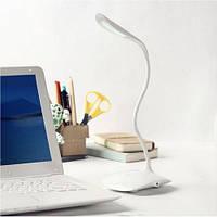 Настольная декоративная лампа с аккумулятором от USB KSB 188 B, сенсорный светильник 3 режима свечения