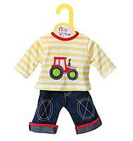 Шорты с блузкой для кукол Zapf Creation Baby born 870037