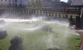 Система полива на даче в с. Иванковичи 1