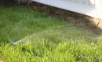 Система автоматического полива на Русановских садах 2