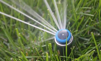 Система автоматического полива на Русановских садах 4