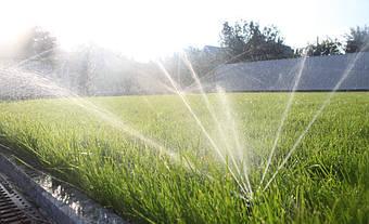 Система автоматического полива на Русановских садах 6