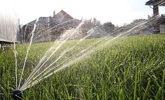 Система автоматического полива на Русановских садах 7