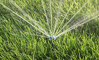 Система автоматического полива на Русановских садах 11