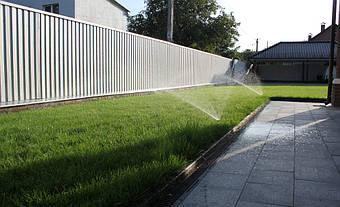 Система автоматического полива на Русановских садах 10