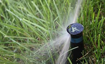 Система автоматического полива на Русановских садах 8
