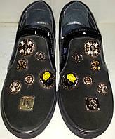 Туфли женские кожаные  к711ч ВЕРОН