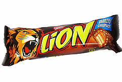 LION карамельный батончик