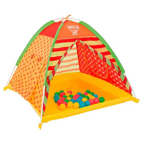 Палатка каркасная детская с шариками BestWay арт. 68080