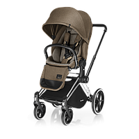 Cybex 2017 - Прогулочная коляска PRIAM LUX SEAT, цвет Cashmere beige