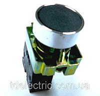 Кнопка NP2 металл 1NC AC 6V-230V Черный