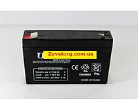 Аккумулятор (АКБ)  6 вольт 7 А/ч.