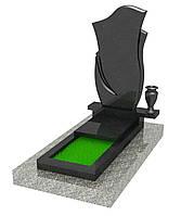 Ординарный гранитный надгробный памятник