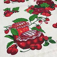 Вафельна тканина Варення, ширина 50 см, фото 1