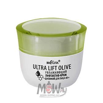 Bielita - Ultra Lift Olive 45+ крем-лифтактив увлажняющий для лица дневной 50ml, фото 2