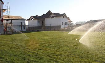 Монтаж системы полива в окрестностях столицы 3