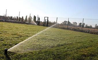 Монтаж системы полива в окрестностях столицы 1