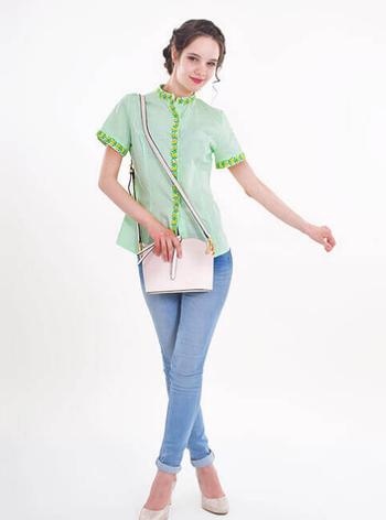 "Блуза  вышиванка ""  Маринка  "", фото 2"