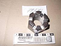 Гайка корончатая М30х3,5 (основной шаг); стандарт ГОСТ 5918-70, класс прочности 6.0