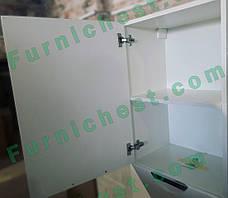 Пенал для ванной комнаты Альвеус 50-03 с корзиной Врезная Ручка левый ПИК, фото 3