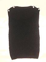 Вязанная жилетка на девочку 5-6; 8-9 лет