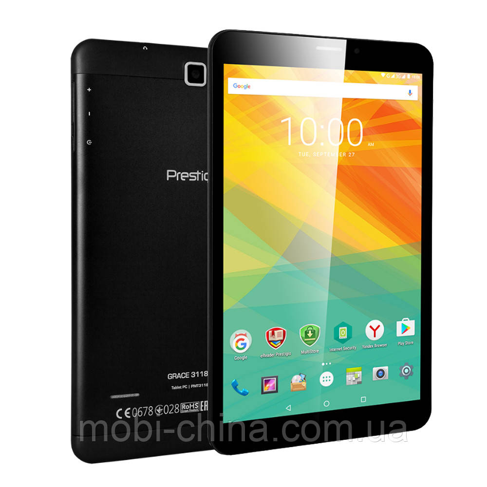 Планшет Prestigio MultiPad Grace 3118 8'' 8GB 3G Black ' ' '