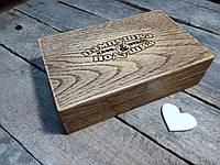 Шкатулка - расчетница из дуба , фото 1