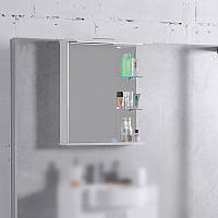 Шкафчик для ванной комнаты зеркальный ШЗ-8 Fancy Marble