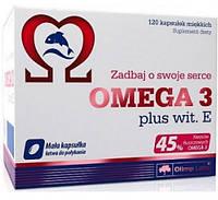 OLIMP Omega 3 (45%) + vitamin E 1000 mg blister box 120 caps