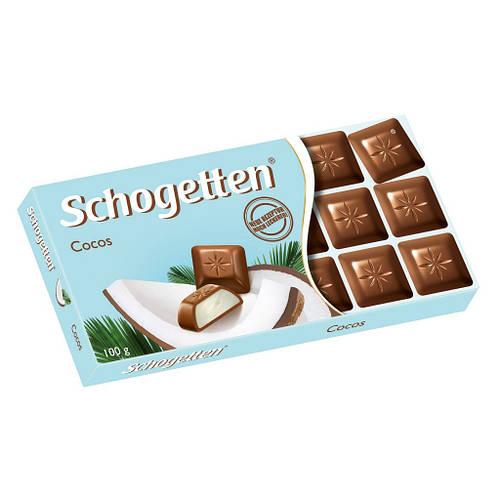 Schogetten Cocos шоколад Германия 100 грамм