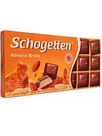 Шоколад Schogetten Almond Brittle  с мендалем 100г (Германия)