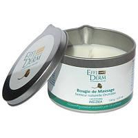 Свеча массажная с натуральным ароматом орхидей EffiDerm