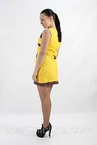 Платье DELANO №13093 желтое S, M, L, XL  Артикул: 136692 Цена опт. : 267.00 грн.  Цена розн.: 414.00 грн., фото 2