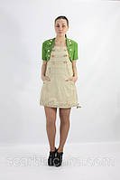 Платье с болеро №13090 бежевый S,M, L, XL  Артикул: 136693   Цена опт. : 348.00 грн.  Цена розн.: 443.00 грн.