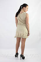 Платье с болеро №13090 бежевый S,M, L, XL  Артикул: 136693   Цена опт. : 348.00 грн.  Цена розн.: 443.00 грн., фото 2