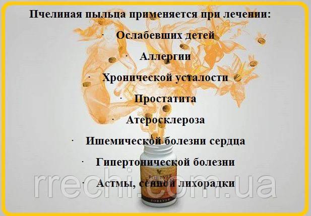 """Форевер Органическая Пчелиная Пыльца, США, Forever Bee Pollen®, 100 табл. - ЧП """"Валеолог"""" в Киеве"""
