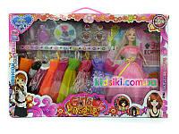 Набор кукла типа Барби с одеждой и аксессуарами
