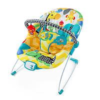 Кресло-качалка «Bright Starts» музыкальное Улыбка саванны (60390)