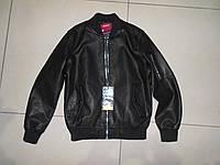 Подростковая кожанная куртка NATURE 134-164 розница
