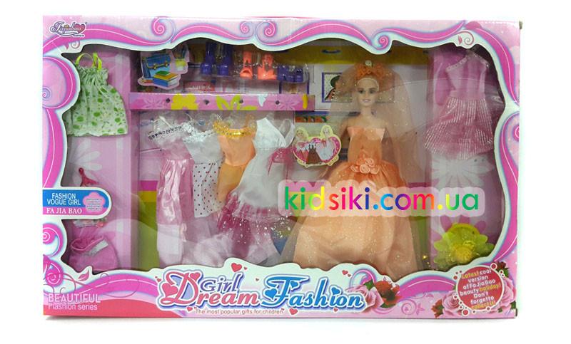 Набор кукла типа барби невеста с платьями: продажа, цена в ...