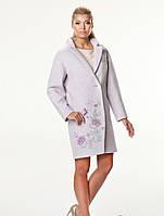 Пальто Женское Вергина вышивка, фото 1