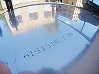 Лист н/ж AISI 316/316L 2,0х1000х2000 - нержавеющий лист кислотостойкий