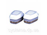 3M™ 6099 - фильтр для полнолицевых масок, защита от газа и пара ABEK2P3, 1 шт.