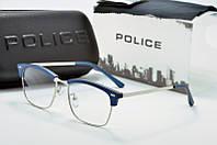 Оправа прямоугольная Police синяя, фото 1