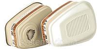 3M™ 6098 - фильтр для масок и полумасок, защита от газа и пара AXP3, 1 шт.