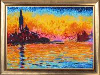Набор для вышивки бисером Закат в Венеции (по картине К. Моне)