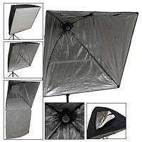 Софтбокс 75х75 см с патроном Е27, отражающий зонт