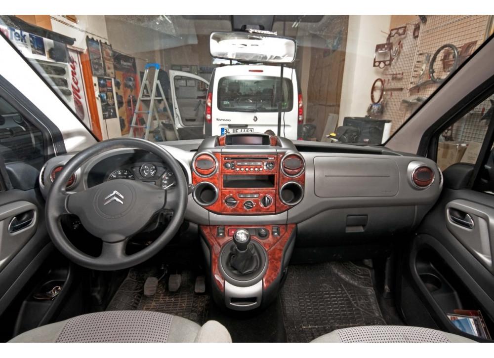 """Peugeot Partner Tepee 2008+ г Автотюнинг салона (цвета в ассортименте) Карбон - Интернет-магазин """"Рейлинги, обвесы, тюнинг"""" в Черновцах"""