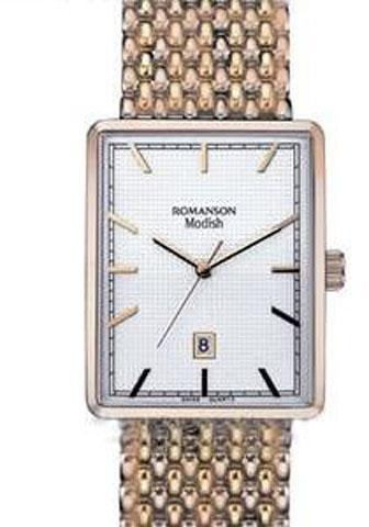 Наручные мужские часы Romanson DM5163NMRG WH оригинал